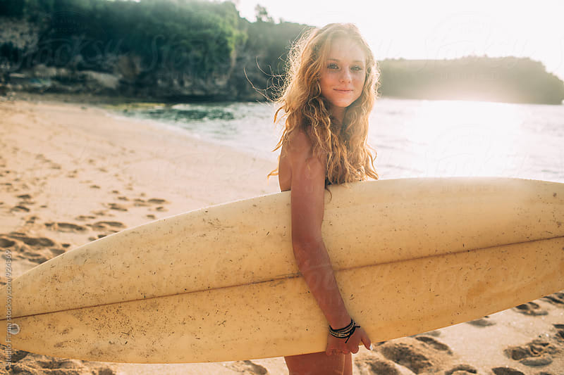 Summer Fun! Surf Time! by Dijana Tolicki for Stocksy United