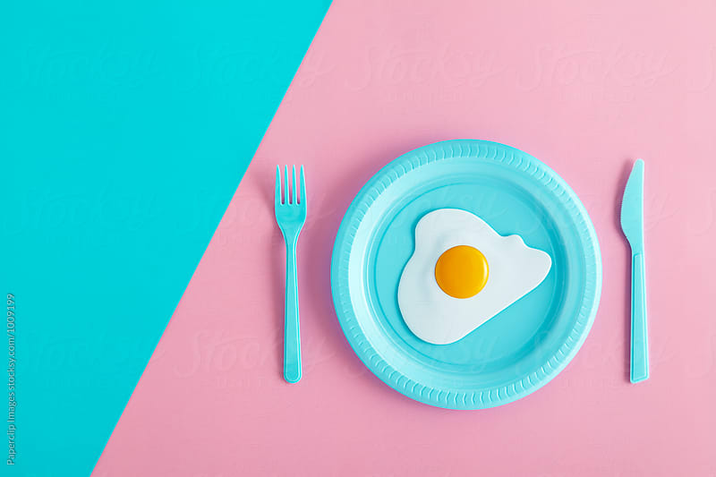 Minimal breakfast by Paperclip Images for Stocksy United