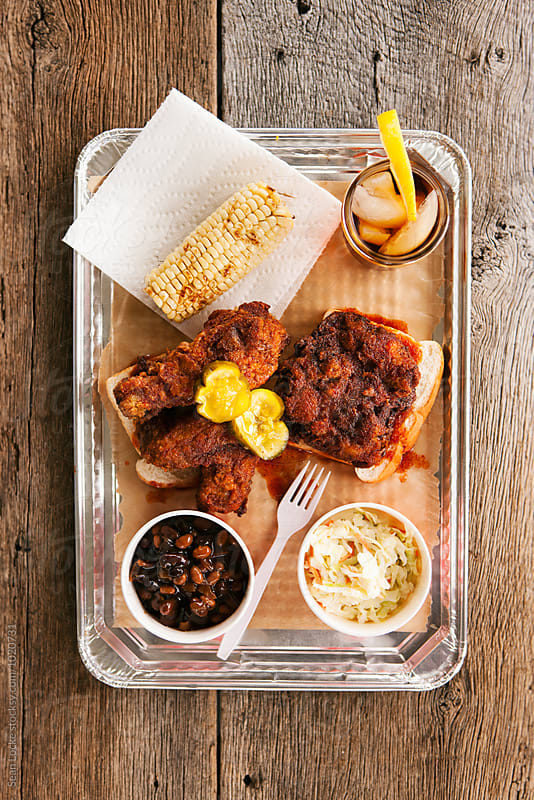stock photo: hot chicken