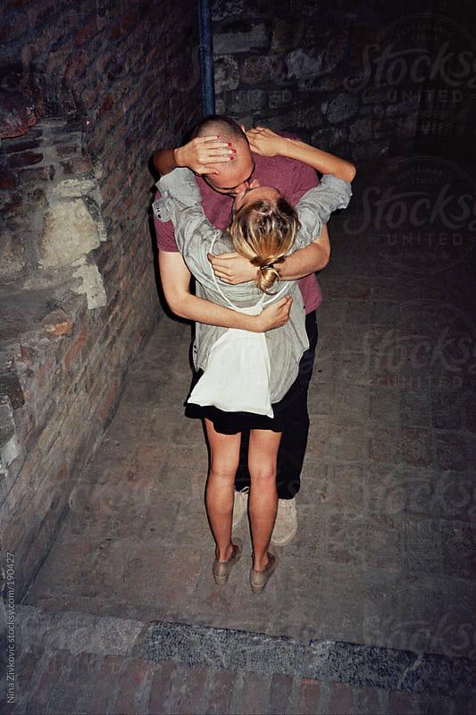 A kiss. by Nina Zivkovic for Stocksy United