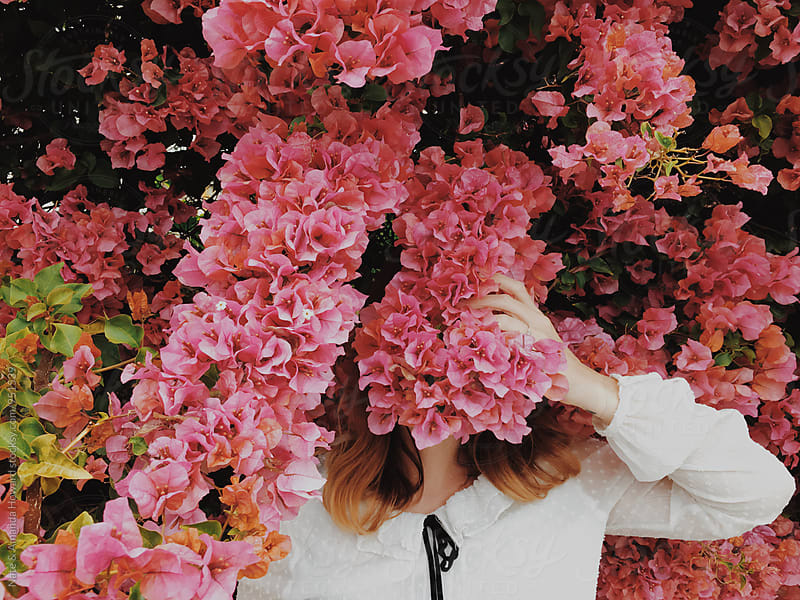 spring flower tree  by Nate & Amanda Howard for Stocksy United