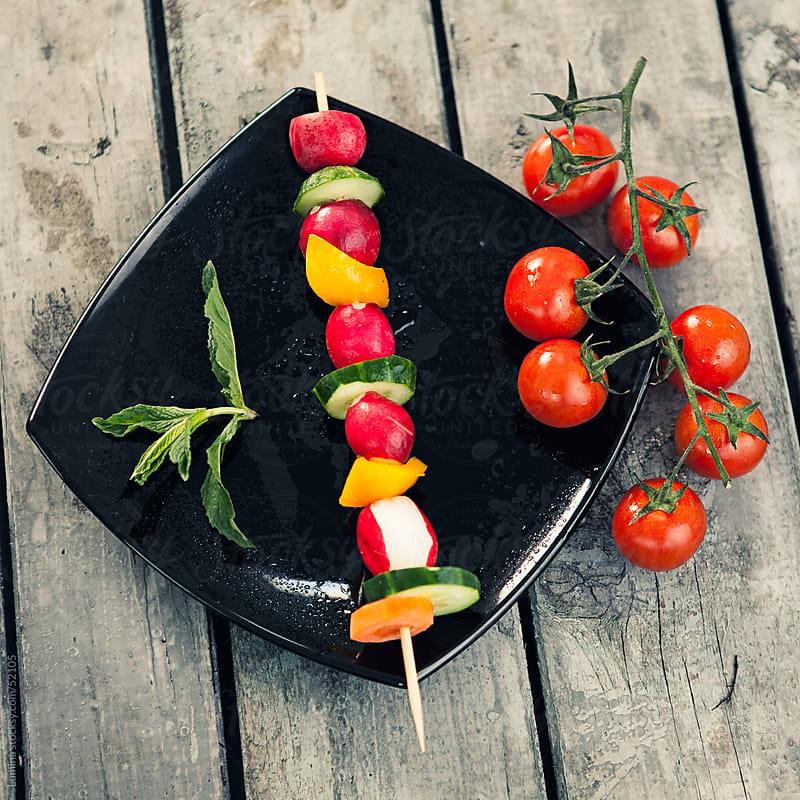 Vegetarian Skewer by Lumina for Stocksy United