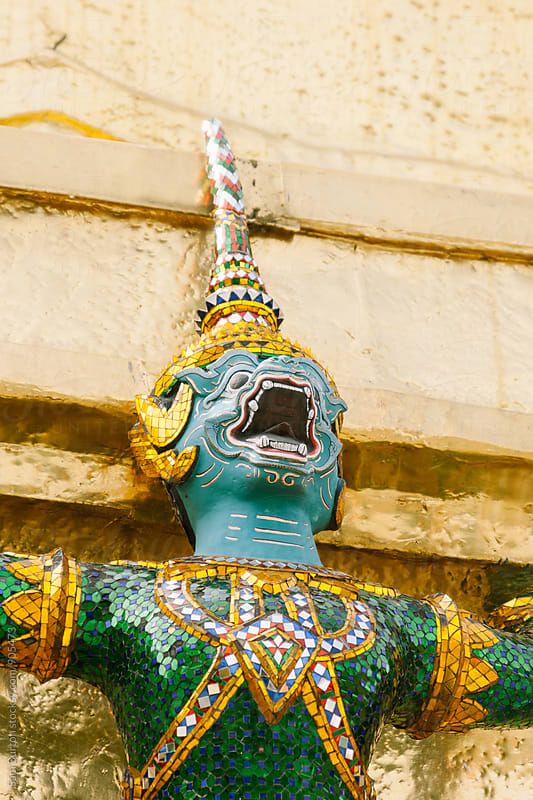 Thai Statue by Sam Burton for Stocksy United