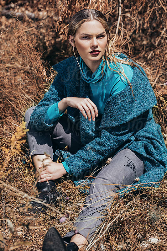 Autumn fashion editorial by Maja Topcagic for Stocksy United