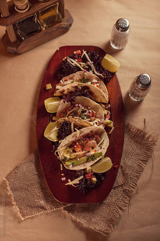 Mexican Vegetarian Tacos by Mosuno for Stocksy United