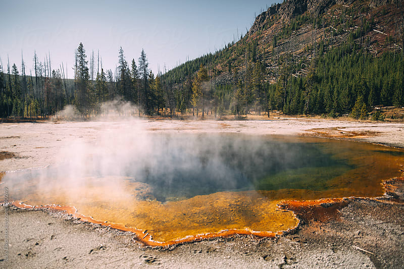Various Colors Of Yellowstone by Jake Elko for Stocksy United