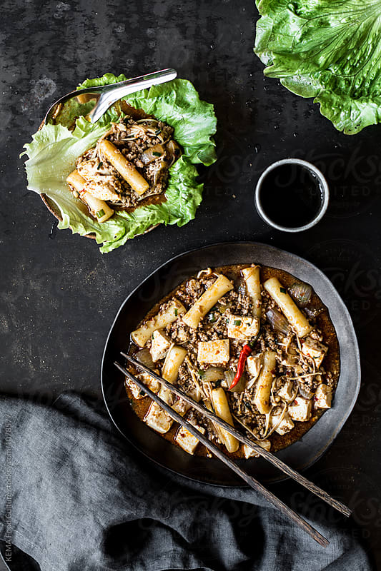 Mapo tofu - Chinese food by KEMA Food Culture for Stocksy United