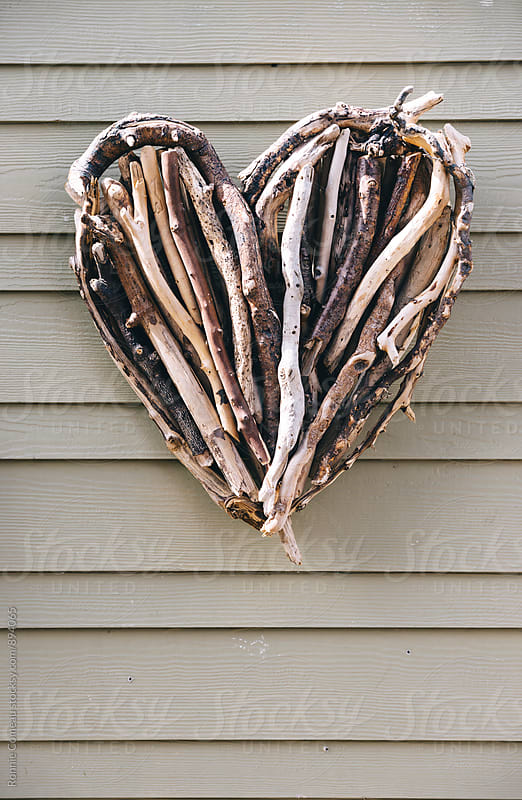 Heart Shaped Driftwood by Ronnie Comeau for Stocksy United