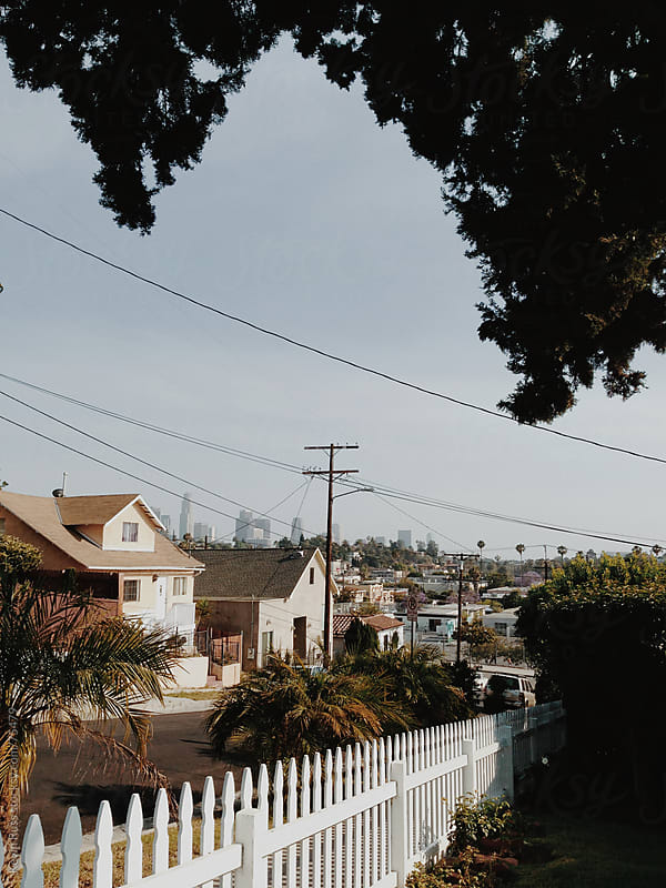Los Angeles Neighborhood by Kevin Russ for Stocksy United