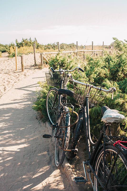 Bike on the beach by Giada Canu for Stocksy United