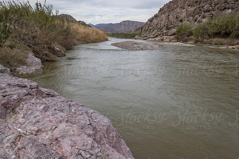 The Rio Grande River by Adam Nixon for Stocksy United