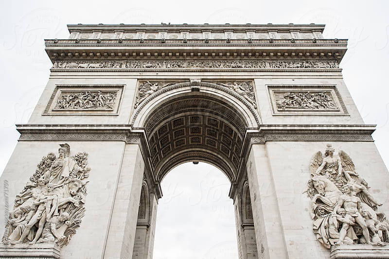 Arc the triomphe, Paris, France by Peter Wey for Stocksy United