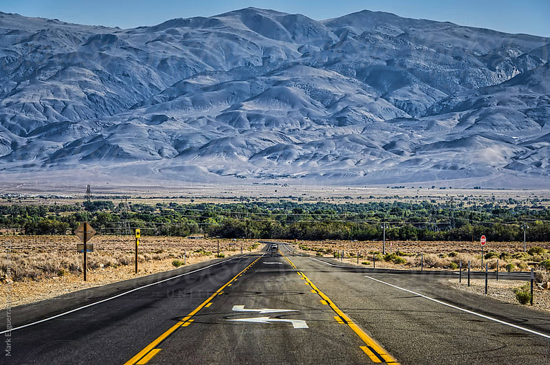 The road to Bishop by Mark Esguerra for Stocksy United