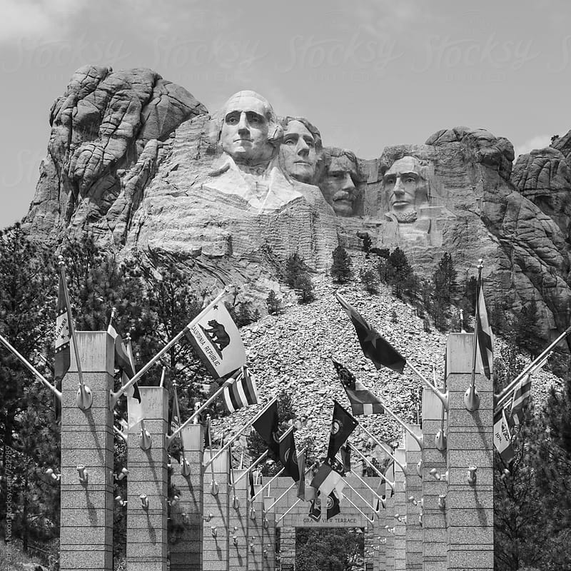 Mount Rushmore South Dakota by Adam Nixon for Stocksy United