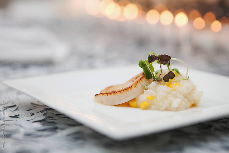 Scallop Dinner by ZOA PHOTO for Stocksy United