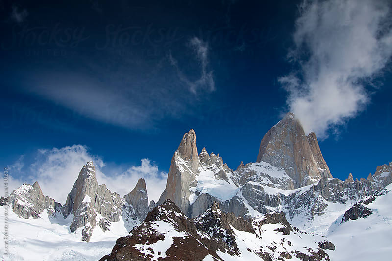 Mount Fitzroy - Cerro Fitz Roy - Chaltén by Lucas Brentano for Stocksy United