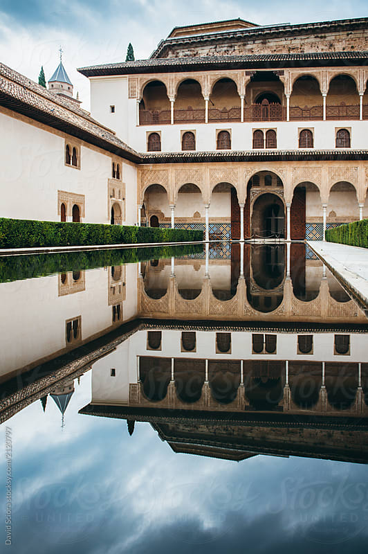 Alhambra palace and fortress by David Sciora for Stocksy United