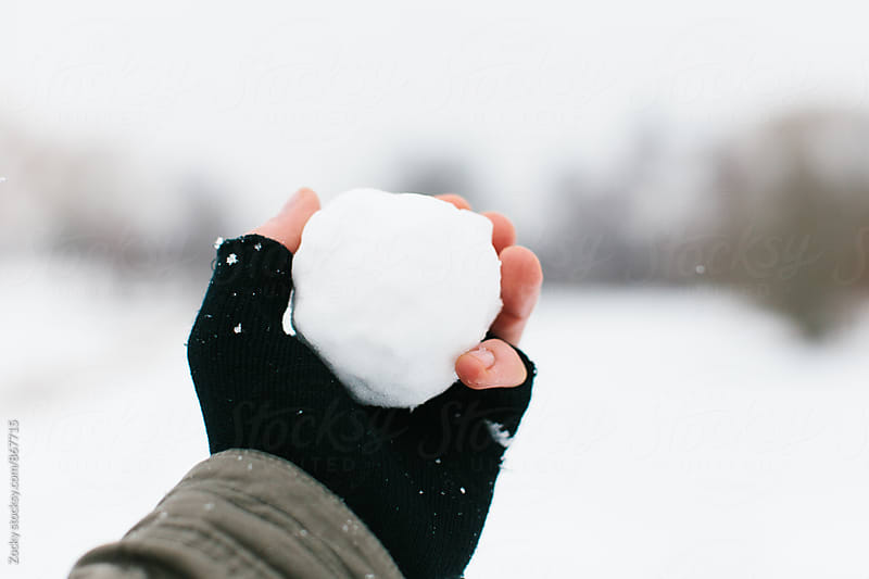 Snowball making by Zocky for Stocksy United