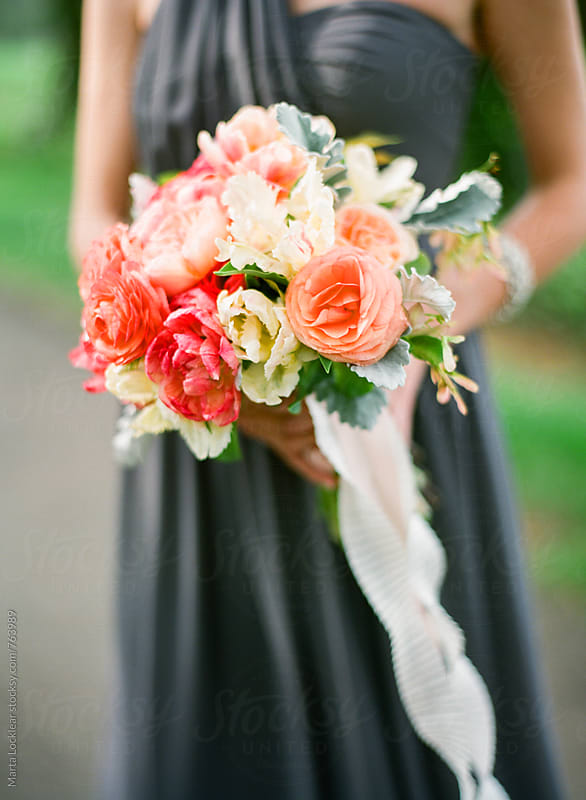 Bridesmaid bouquet by Marta Locklear for Stocksy United