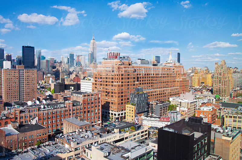 manhattan / new york view by Sonja Lekovic for Stocksy United