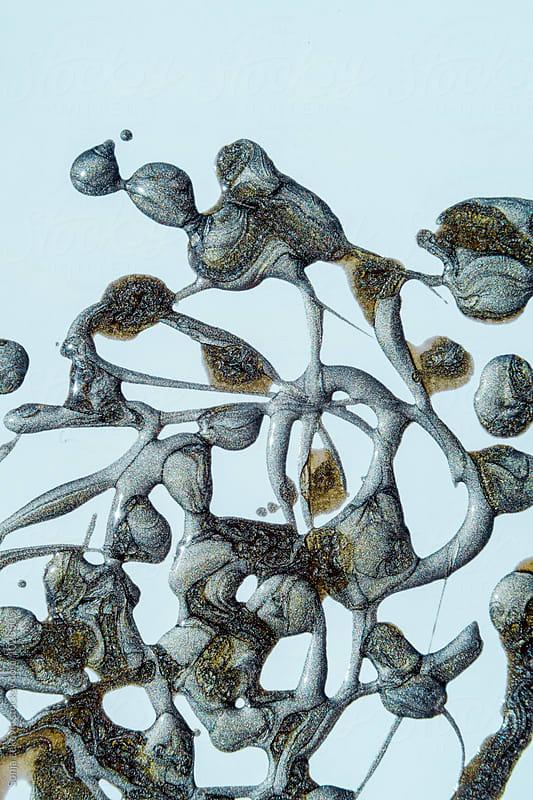 abstract splash by Sonja Lekovic for Stocksy United