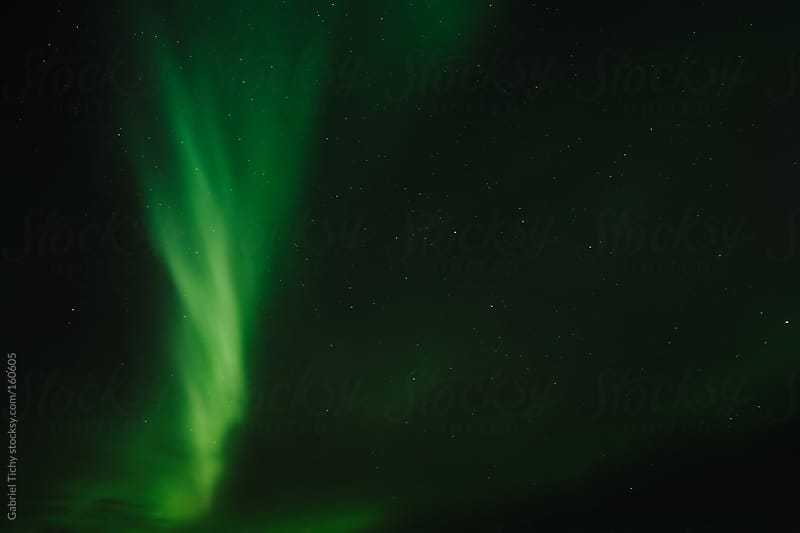 Northern Lights, Iceland by Gabriel Tichy for Stocksy United