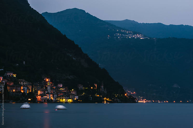 Traditional village on Lake Como, Italy by WAVE for Stocksy United