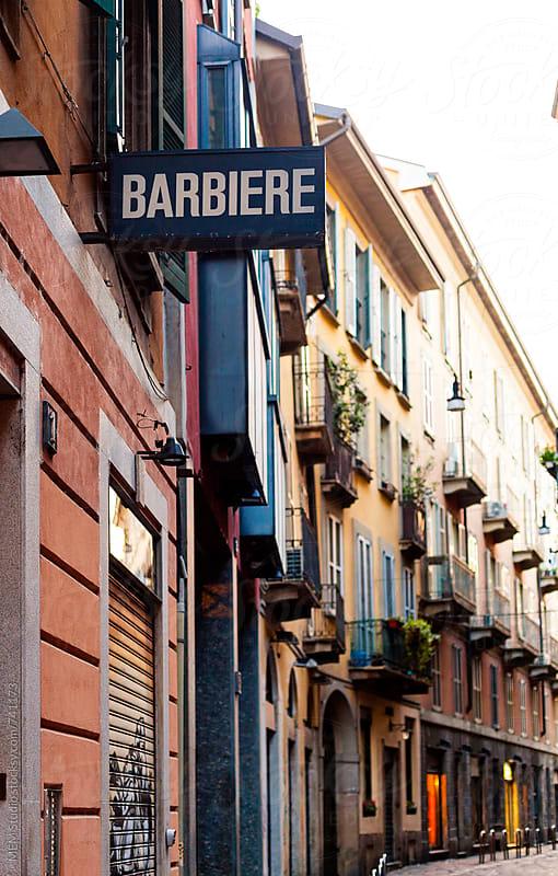 barbiere in Verona by MEM Studio for Stocksy United