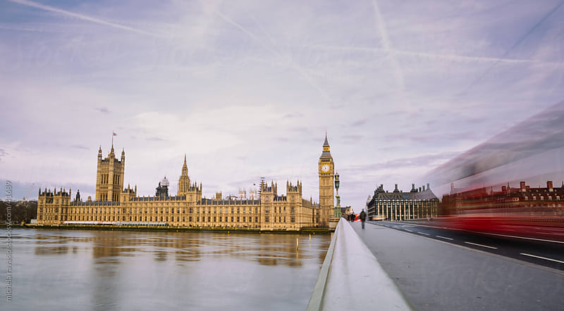 Big Ben and Houses of Parliament in London by michela ravasio for Stocksy United