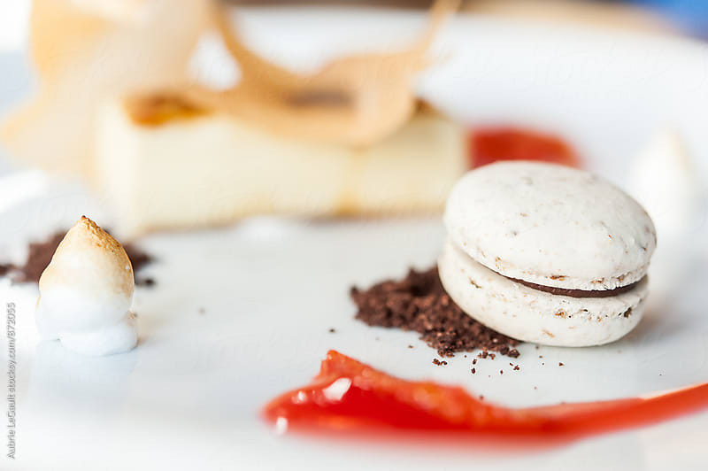 Macaron + Dessert by Aubrie LeGault for Stocksy United