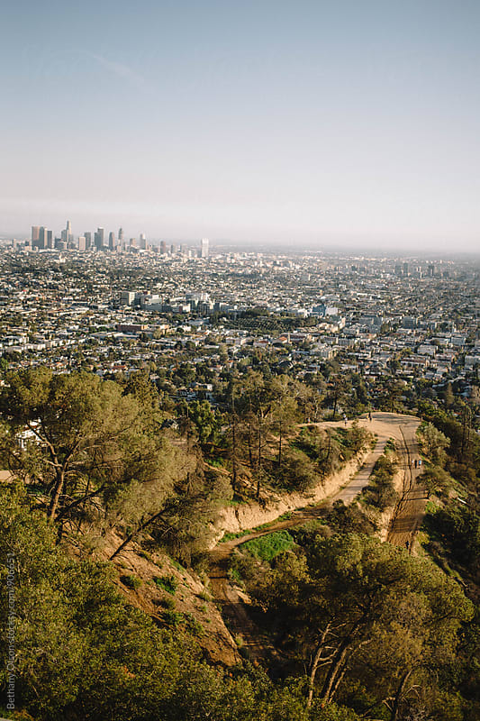 Looking Over Los Angeles by Bethany Olson for Stocksy United
