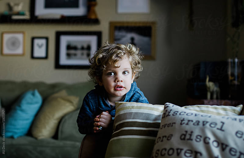 Toddler Thoughts by Ali Deck for Stocksy United