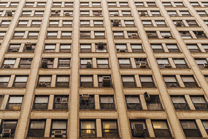 Old building windows by Adam Nixon for Stocksy United