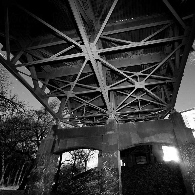 Under Fort Worth Texas Bridge by Thomas Hawk for Stocksy United