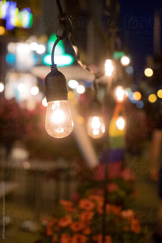 Retro Patio Lights by Studio Six for Stocksy United