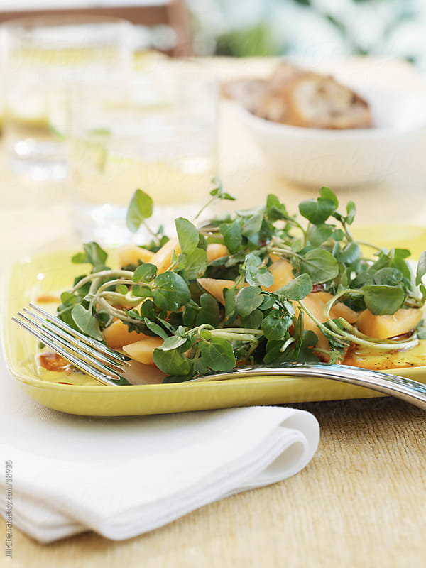 Watercress Salad by Jill Chen for Stocksy United