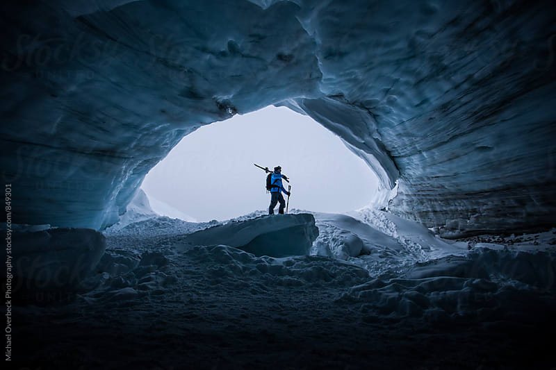 Ice Cave I by Michael Overbeck Photography for Stocksy United