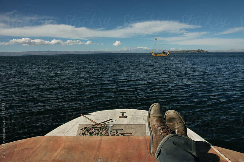 Sailing Titicaca Lake by Oscar Parasiego for Stocksy United