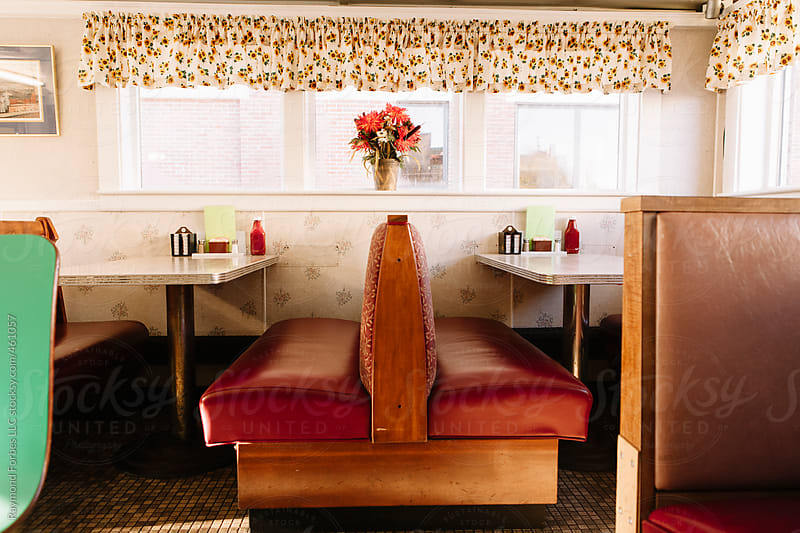 Empty Diner by Raymond Forbes LLC for Stocksy United