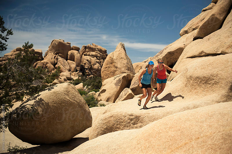 Joshua Tree Trail Runners by Willie Dalton for Stocksy United