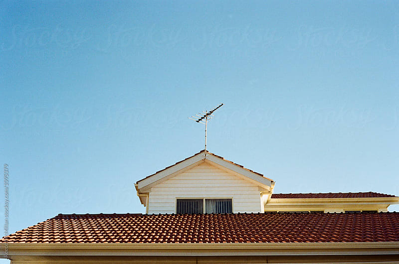 Suburban antenna by Reece McMillan for Stocksy United
