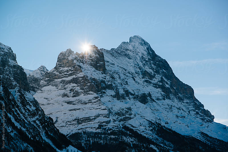 Eiger by Peter Wey for Stocksy United