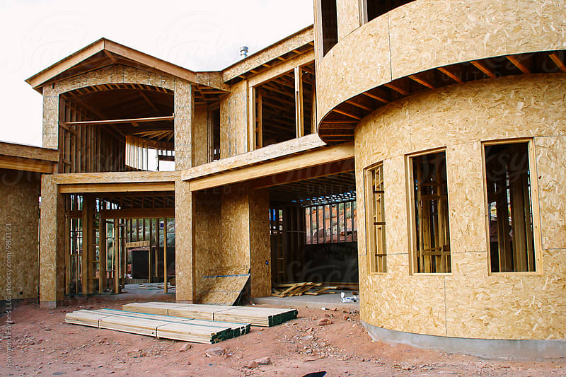Home Under Construction by Raymond Forbes LLC for Stocksy United