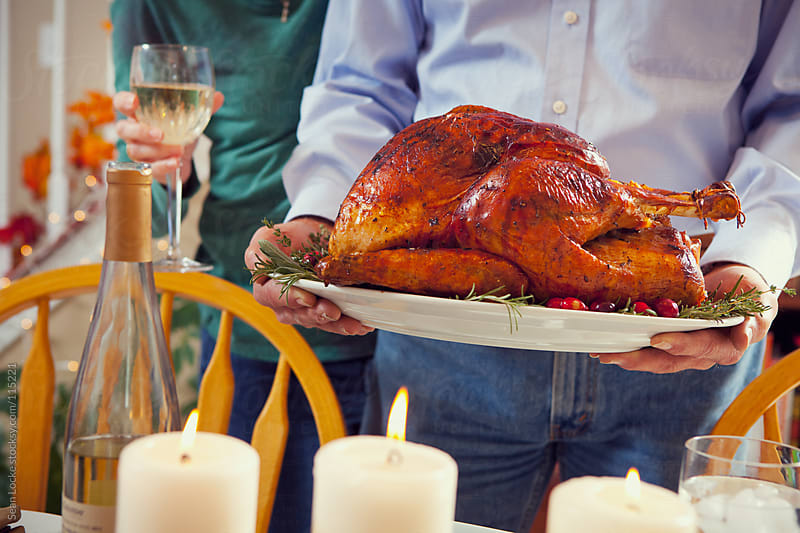 Thanksgiving: Perfect Roast Turkey For Dinner by Sean Locke for Stocksy United