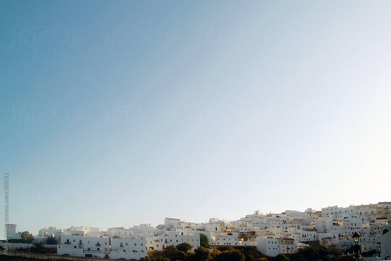 white villages in Spain,Andalusia by Marija Anicic for Stocksy United