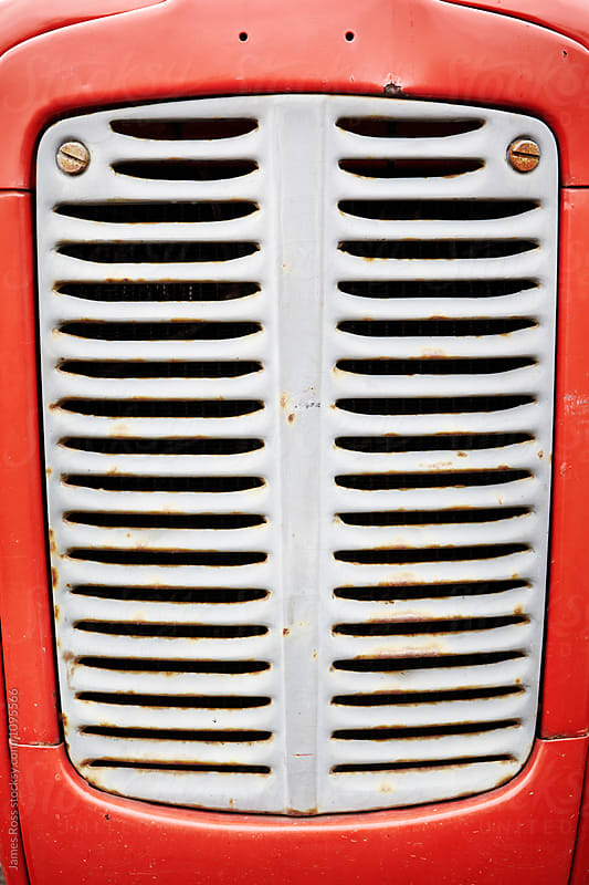 Tractor Grill by James Ross for Stocksy United