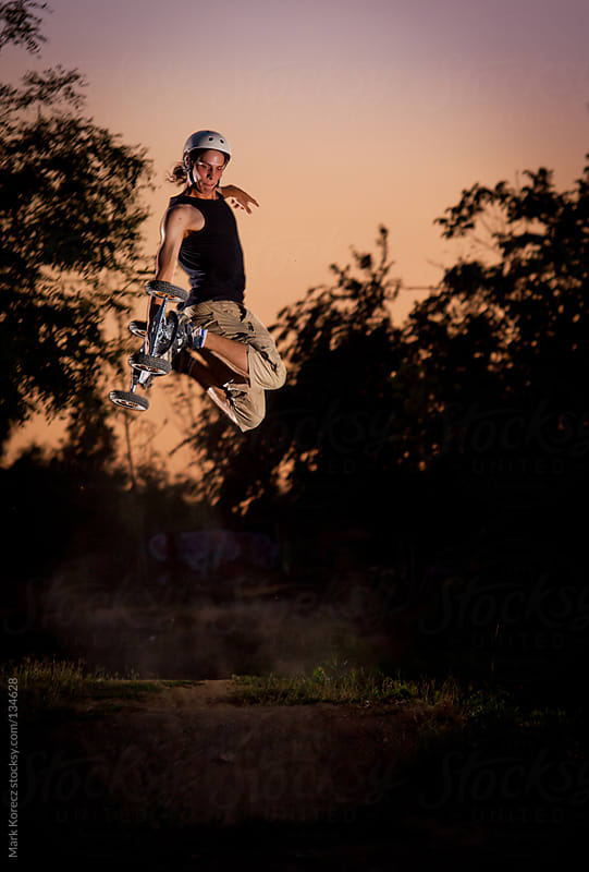Dirtboarding by Mark Korecz for Stocksy United