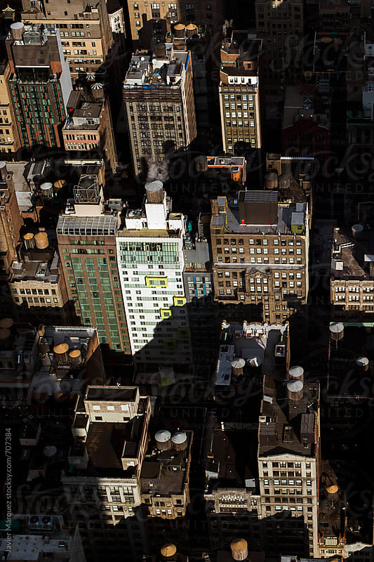View from the Empire State by Márquez Studio for Stocksy United
