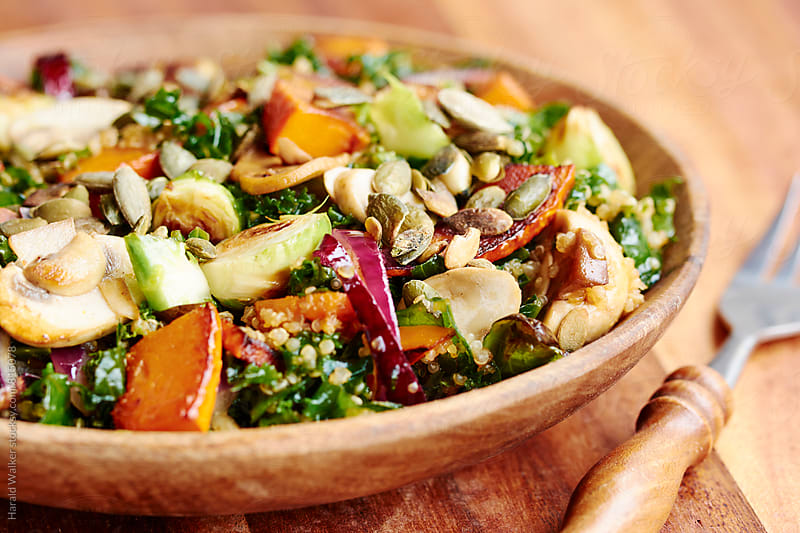 Autumn Quinoa Salad by Harald Walker for Stocksy United