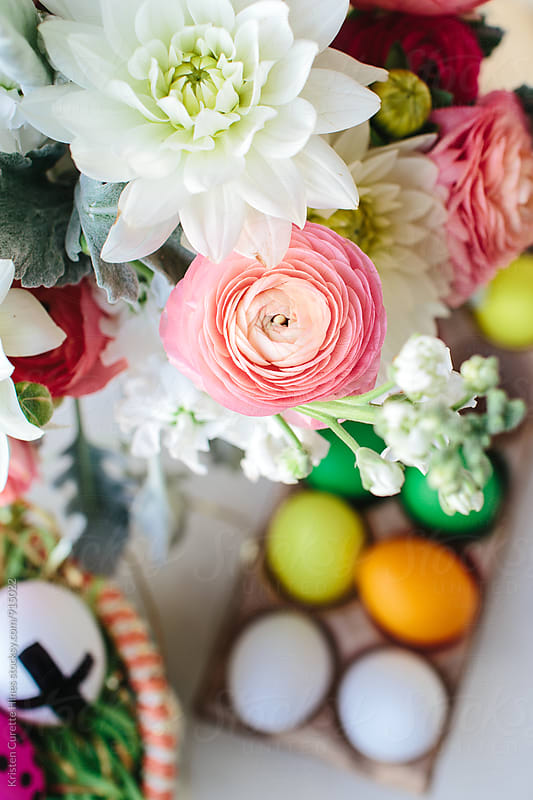 Easter flower blooms by Kristen Curette Hines for Stocksy United